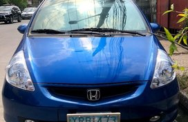 Blue Honda Jazz 2008 for sale in Manila