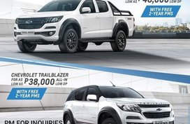 Brand New 2020 Chevrolet Trailblazer 38K All in DP