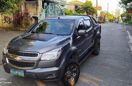 Selling Grey Chevrolet Colorado 2013 in Pasay