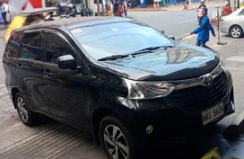 Black Toyota Avanza 2016 for sale in Automatic