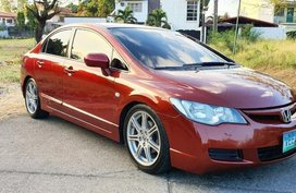 Selling Red Honda Civic 2007 in Paranaque City