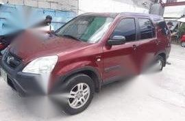 Sell Red 2006 Honda Cr-V in Quezon City