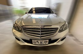 Sell Pearlwhite 2014 Mercedes-Benz E-Class in Mandaue