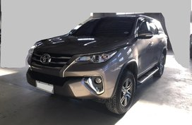 Grey Toyota Fortuner 2017 for sale in Bay