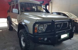 Beige Nissan Patrol 1995 for sale in Antipolo