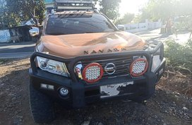 Selling Orange Nissan Navara 2016 in Rodriguez