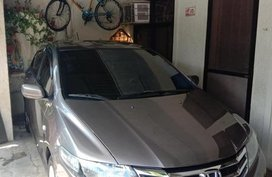 Grey Honda City 2012 for sale in Valenzuela