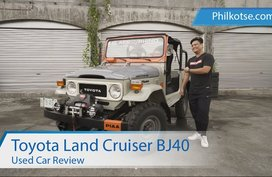 Toyota Land Cruiser BJ40 | A Rugged 4x4 vehicle | Used car review | Philkotse