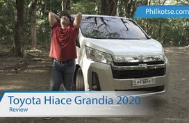 2020 Toyota Hiace Grandia Review Philippines: The king of family vans