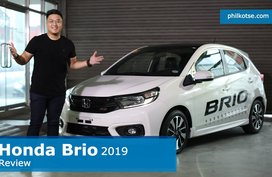 2019 Honda Brio Review Philippines: How do you like its new look? Philkotse