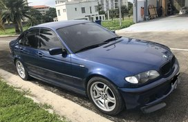 Blue Bmw 3-Series 2002 for sale in Manila
