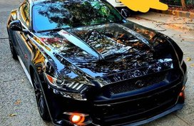 Black Ford Mustang 2016 Coupe / Roadster for sale in Taguig