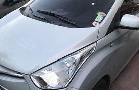 Silver Hyundai Eon 2016 for sale in Manila