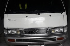White Nissan Urvan 2003 for sale in Lucena