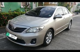 Silver Toyota Corolla altis 2011 Sedan for sale in Cabuyao