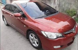 Sell Red 2008 Honda Civic in Manila