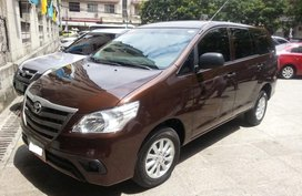 Sell Brown 2015 Toyota Innova in Manila