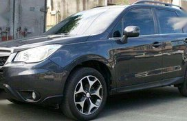 Sell Grey 2014 Subaru Forester in Quezon City