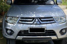 Mitsubishi Montero 2014 Barely Used