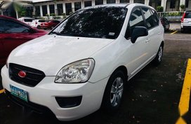 Pearlwhite Kia Carens 2007 for sale in Los Baños