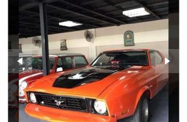 Orange Ford Mustang 1973 for sale in Lipa City