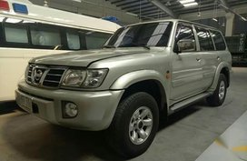 Grey Nissan Patrol 2004 for sale in Marilao