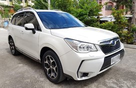 Sell White 2014 Subaru Forester in Manila
