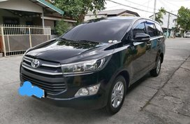 Black Toyota Innova 2017 for sale in Angeles