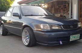 Blue Toyota Corolla 1998 for sale in Angeles