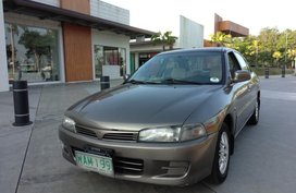 Brown Mitsubishi Lancer 2004 for sale in Batangas