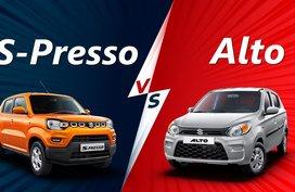 2020 Suzuki S-Presso vs Alto Comparison: Out with the old, in with the new