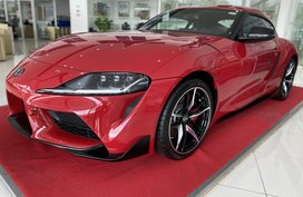 Red Toyota Supra 2020 ALL IN PROMO