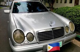 Silver Mercedes-Benz E-Class 1998 for sale in Manila