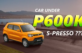 2020 Suzuki S-Presso vs Cars Under P600,000 in the Philippines