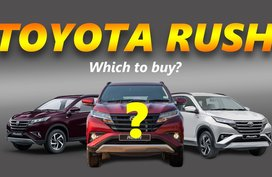 Which 2020 Toyota Rush should you buy? – Variant Comparison