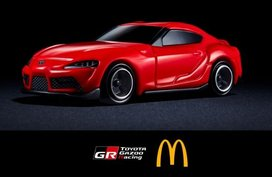 McDonald's x Toyota Supra collab is a car guy's Happy Meal