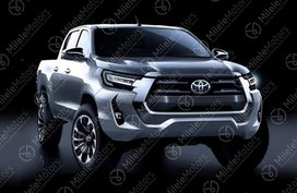 2021 Toyota Hilux facelift leaked with Tacoma-inspired design