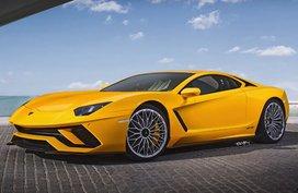 Does a front-engine Lamborghini Aventador tickle your fancy?