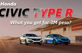 Honda Civic Type R: What will you get for P3-million?