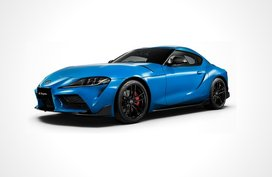 More powerful 2021 Toyota Supra in Horizon Blue debuts in Japan