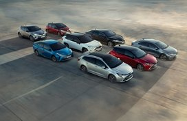 Toyota sold 5-million hybrids in 3 years, half of units sold in 2 decades