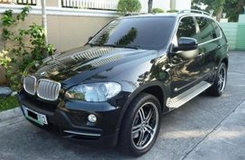 Selling Black Bmw X5 2009 SUV / MPV in Manila