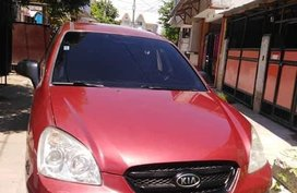 Red Kia Carens for sale in Manila