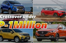 Crossovers in the Philippines that you can buy for under P1-million