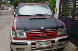 Red Isuzu Trooper 2003 for sale in Manila