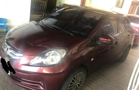 Selling Red Honda Brio amaze 2015 in Bay