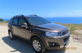 Sell Brown Chevrolet Captiva 2012 in Caloocan City