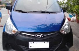 Sell Blue 2014 Hyundai Eon in Manila