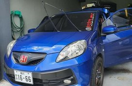Blue Honda Brio 2015 for sale in Brgy. Sto Tomas