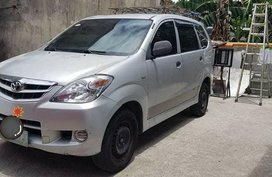 Silver Toyota Avanza 2009 for sale in Quezon City